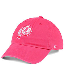 '47 Brand Women's Washington Redskins Pastel CLEAN UP Cap