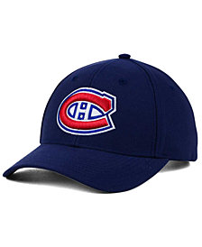 adidas Montreal Canadiens Core Basic Adjustable Snapback Cap