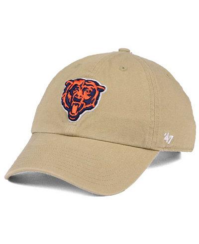 '47 Brand Chicago Bears Khaki CLEAN UP Cap