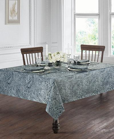 Waterford Esmerelda Indigo Table Linens Collection