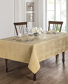 "Moonscape Gold 70"" x 126"" Tablecloth"