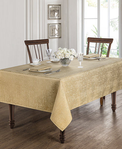 Waterford Moonscape Gold Table Linens Collection