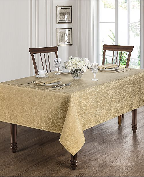 Moonscape Gold Table Linens Collection