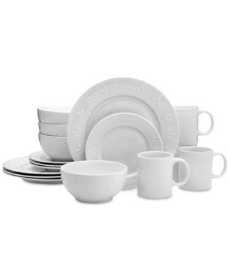 Pfaltzgraff Gia 16-Pc. Din.  sc 1 st  Macyu0027s & Pfaltzgraff Laurel 16-Pc. Dinnerware Set - Dinnerware - Dining ...
