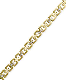 D'Oro by EFFY® Diamond Link Bracelet (1/2 ct. t.w.) in 14k Gold