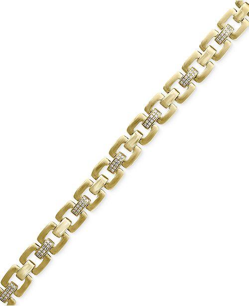 EFFY Collection D'Oro by EFFY® Diamond Link Bracelet (1/2 ct. t.w.) in 14k Gold