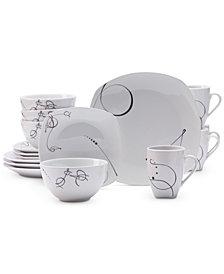 Tabletops Unlimited 16-Pc. Pescara Dinnerware Set