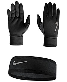 Dri-FIT Running Headband & Gloves Set