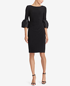 Lauren Ralph Lauren Taffeta-Jersey Dress