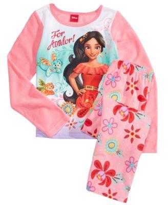 Disney Big Girls Princess 4-Piece Pajama Set