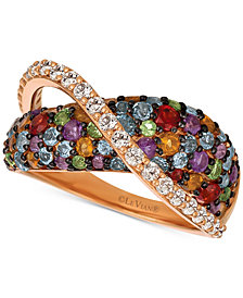 Le Vian® Multi-Gemstone Ring (2-1/3 ct. t.w.) in 14k Rose Gold