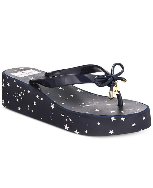 541b536b75a2 kate spade new york Rhett Wedge Sandals   Reviews - Sandals   Flip ...