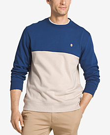 IZOD Men's Advantage Performance Colorblocked Sweatshirt