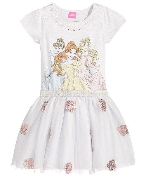 Disney Princesses Dress Little Girls Reviews All Girls