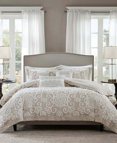 Harbor House Suzanna Taupe Duvet Cover Sets