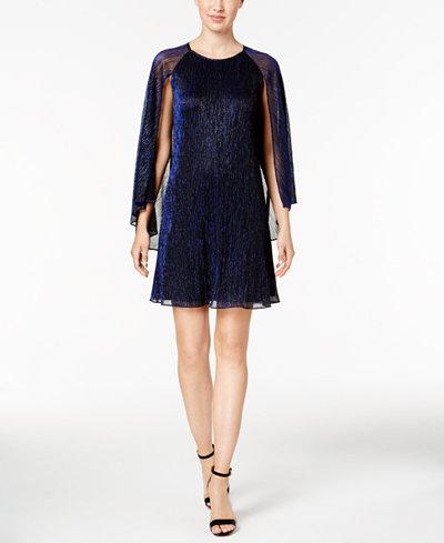 Calvin Klein Petite Cape Shift Dress