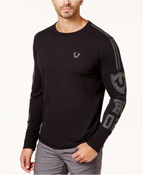 5c87d0986c2 True Religion Men s Moto Puff Logo-Print T-Shirt - T-Shirts - Men ...