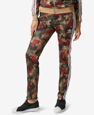 Adidas Originals Pants ADIDAS ORIGINALS PHARRELL WILLIAMS PRINTED TRACK PANTS