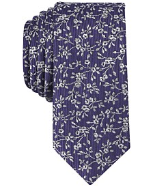 Bar Iii Men S Farens Fl Skinny Tie Created For Macy