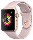 Apple Watch Series 3 GPS 42mm Gold Aluminum Case with Pink Sand Sport Band