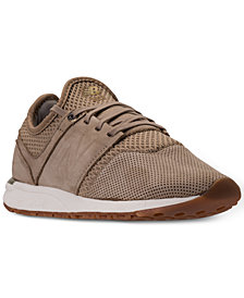 New Balance Women's 247 Grey Casual Sneakers from Finish Line