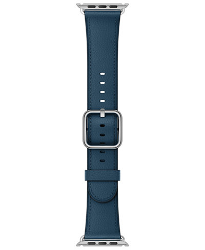 Apple Watch 38mm Cosmos Blue Classic Leather Buckle