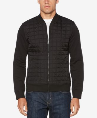 PERRY ELLIS Men V-Neck Knit Cardigan Sweater