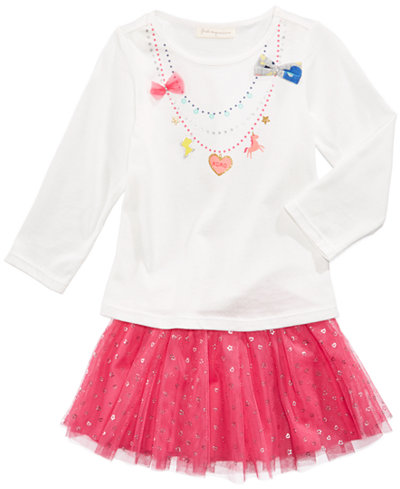 First Impressions Necklace T Shirt Tutu Skirt Baby Girls Created For Macys