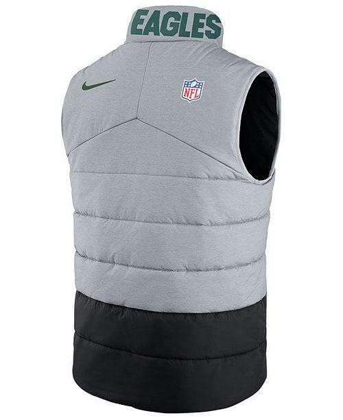 sports shoes 64106 d123e Nike Men's Philadelphia Eagles Sideline Vest & Reviews ...