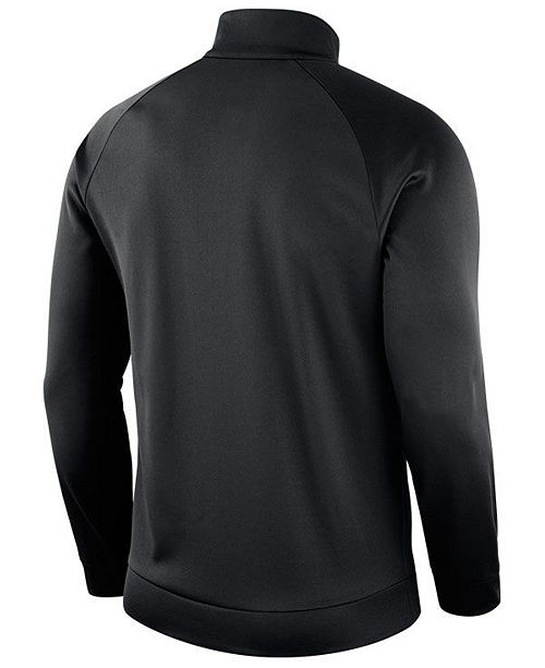 808308246 Nike Men s Pittsburgh Steelers Lightweight Therma Quarter-Zip Pullover ...