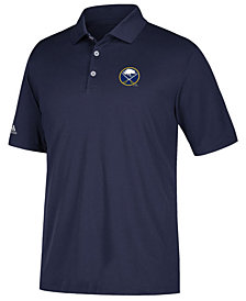 adidas Men's Buffalo Sabres Power Play Primary Polo