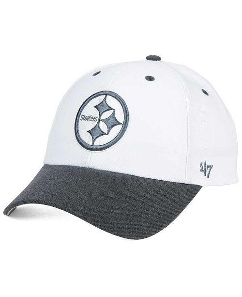 ae5e6bf0 '47 Brand Pittsburgh Steelers Audible 2-Tone MVP Cap & Reviews ...