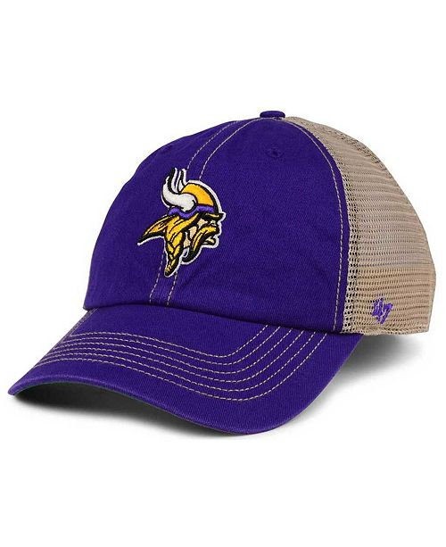 25dfc67bf 47 Brand Minnesota Vikings Trawler CLEAN UP Cap - Sports Fan Shop By ...