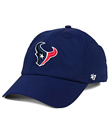 '47 Brand Houston Texans Repetition Tech CLEAN UP Cap