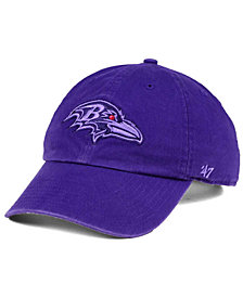 '47 Brand Baltimore Ravens Triple Rush CLEAN UP Cap