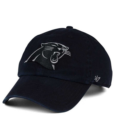 '47 Brand Carolina Panthers Triple Rush CLEAN UP Cap