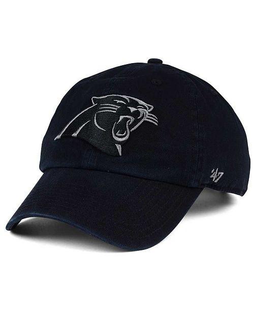 '47 Brand Carolina Panthers Triple Rush CLEAN UP Cap