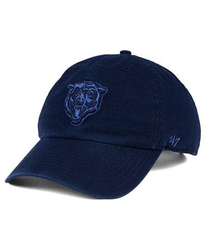 '47 Brand Chicago Bears Triple Rush CLEAN UP Cap