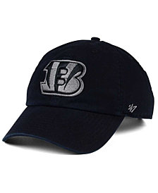 '47 Brand Cincinnati Bengals Triple Rush CLEAN UP Cap