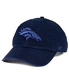 '47 Brand Denver Broncos Triple Rush CLEAN UP Cap