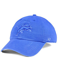 '47 Brand Detroit Lions Triple Rush CLEAN UP Cap