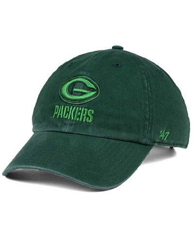 '47 Brand Green Bay Packers Triple Rush CLEAN UP Cap