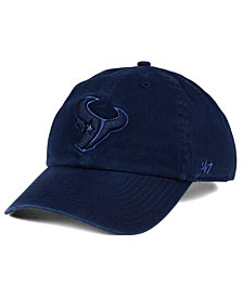 '47 Brand Houston Texans Triple Rush CLEAN UP Cap