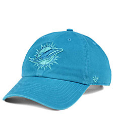 '47 Brand Miami Dolphins Triple Rush CLEAN UP Cap