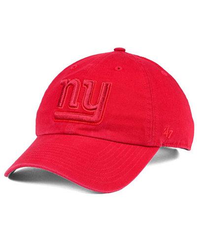'47 Brand New York Giants Triple Rush CLEAN UP Cap