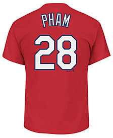 Majestic Men's Tommy Pham St. Louis Cardinals Official Player T-Shirt