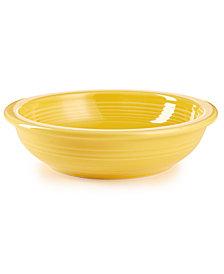 Fiesta Sunflower Individual Pasta Bowl