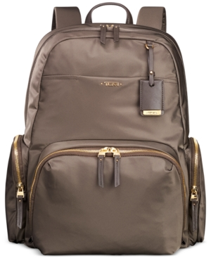 Tumi Calais Nylon 15-inch Computer Commuter Backpack - Brown In Mink