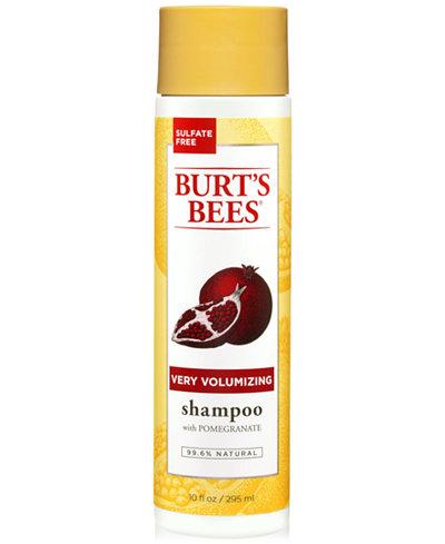 Burt's Bees Very Volumizing Shampoo With Pomegranate, 10 fl. oz.