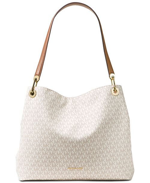 538f8753f7ee Michael Kors Michael Extra-Large Signature Shoulder Tote & Reviews ...